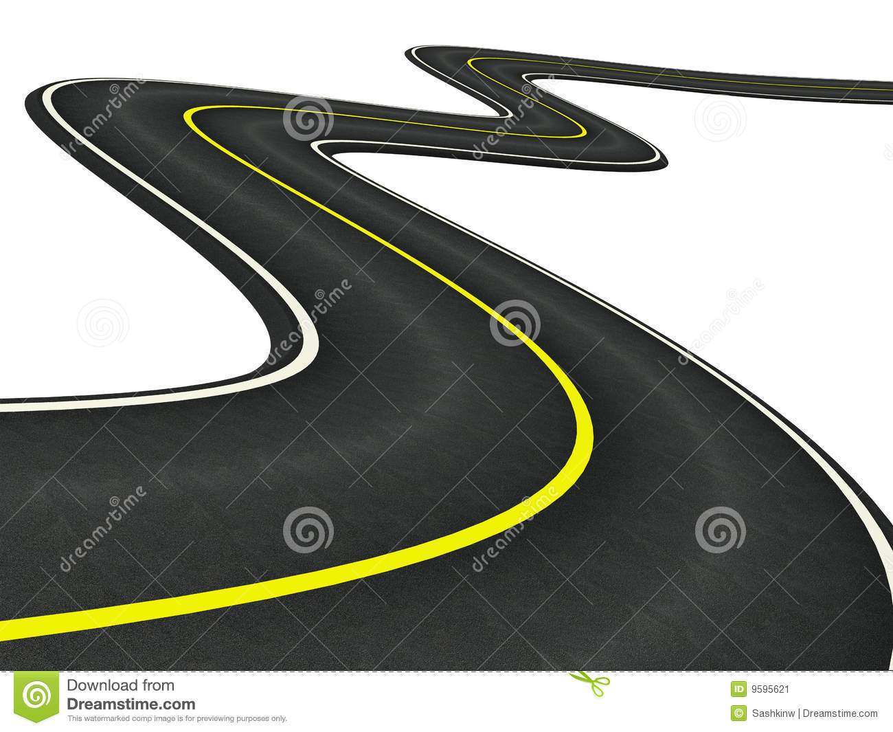 Curved Street Clipart Curved Road Clip Art Curved