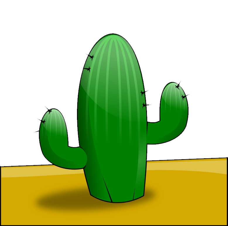 Free To Use   Public Domain Cactus Clip Art