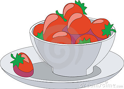 Fruit Cup Clipart