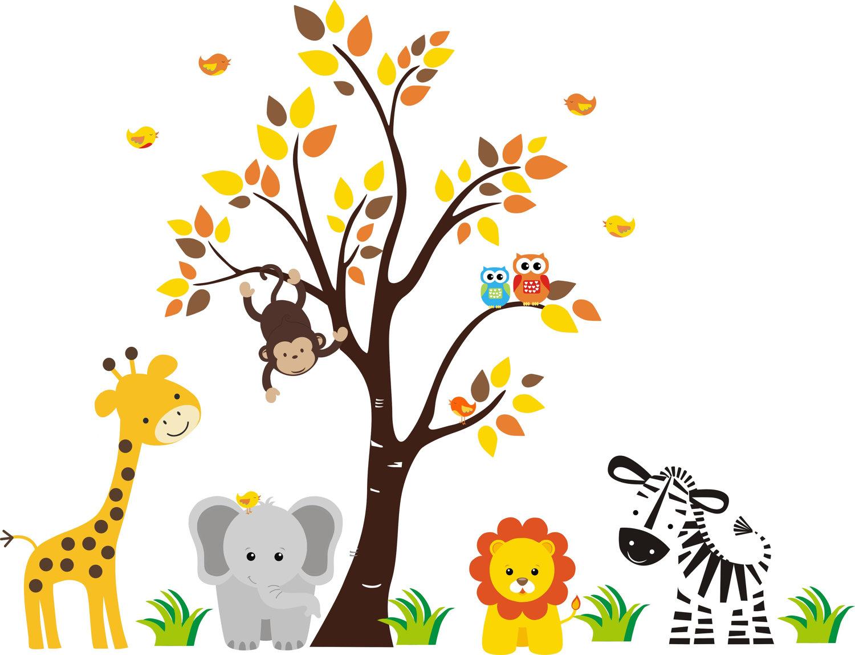 Baby Jungle Border Clipart - Clipart Kid