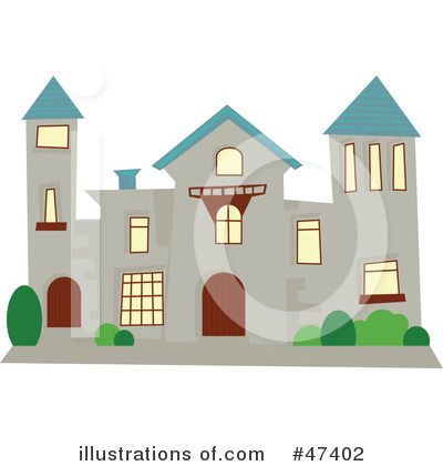 Mansion Clipart  47402 By Prawny   Royalty Free  Rf  Stock