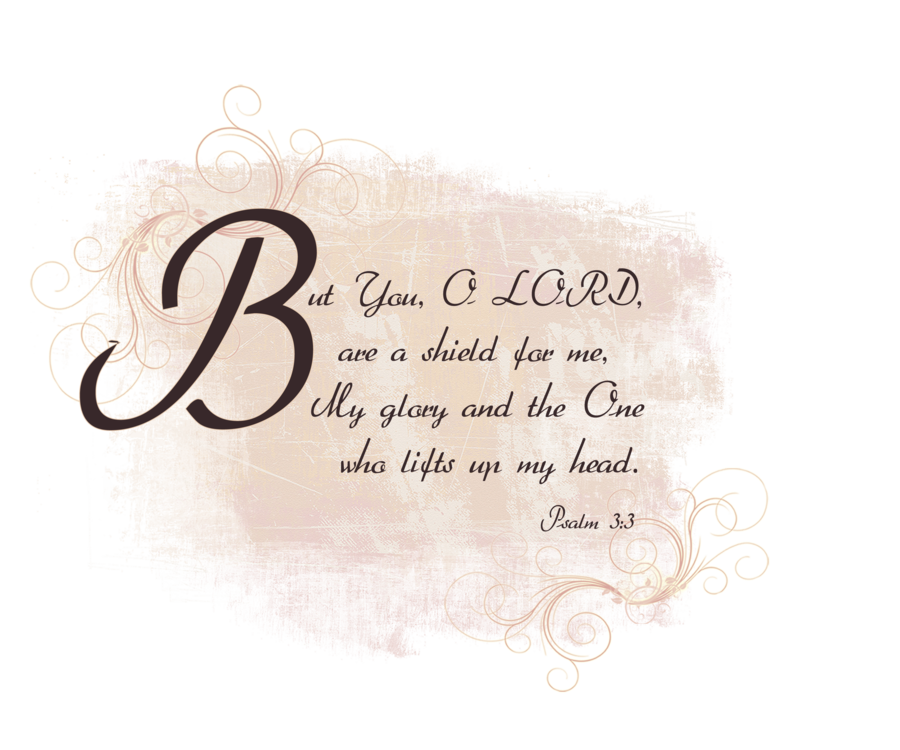 Psalms 3 3 Text Stock Png By Madetobeunique On Deviantart