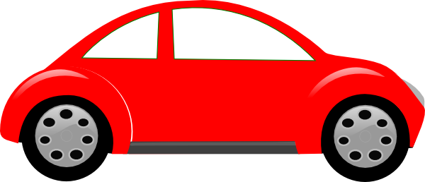 Red Car Bug Clip Art   Vector Clip Art Online Royalty Free