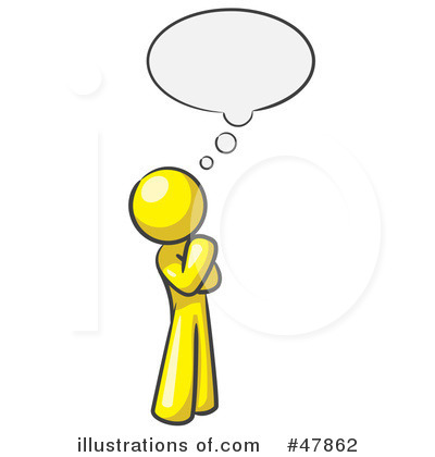 Thought Clipart  47862 By Leo Blanchette   Royalty Free  Rf  Stock