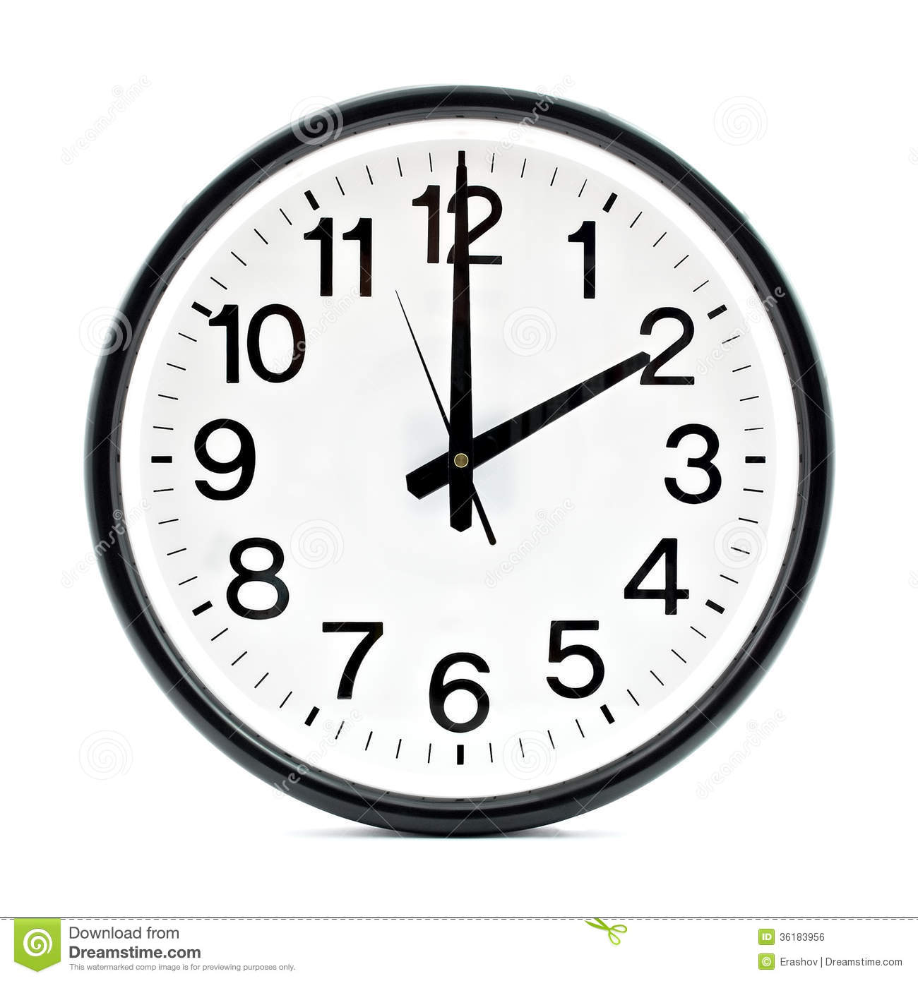 clock clipart black and white free - photo #19