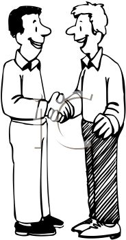 1008 1202 4128 Two Men Shaking Hands In Greeting Clipart Image Jpg