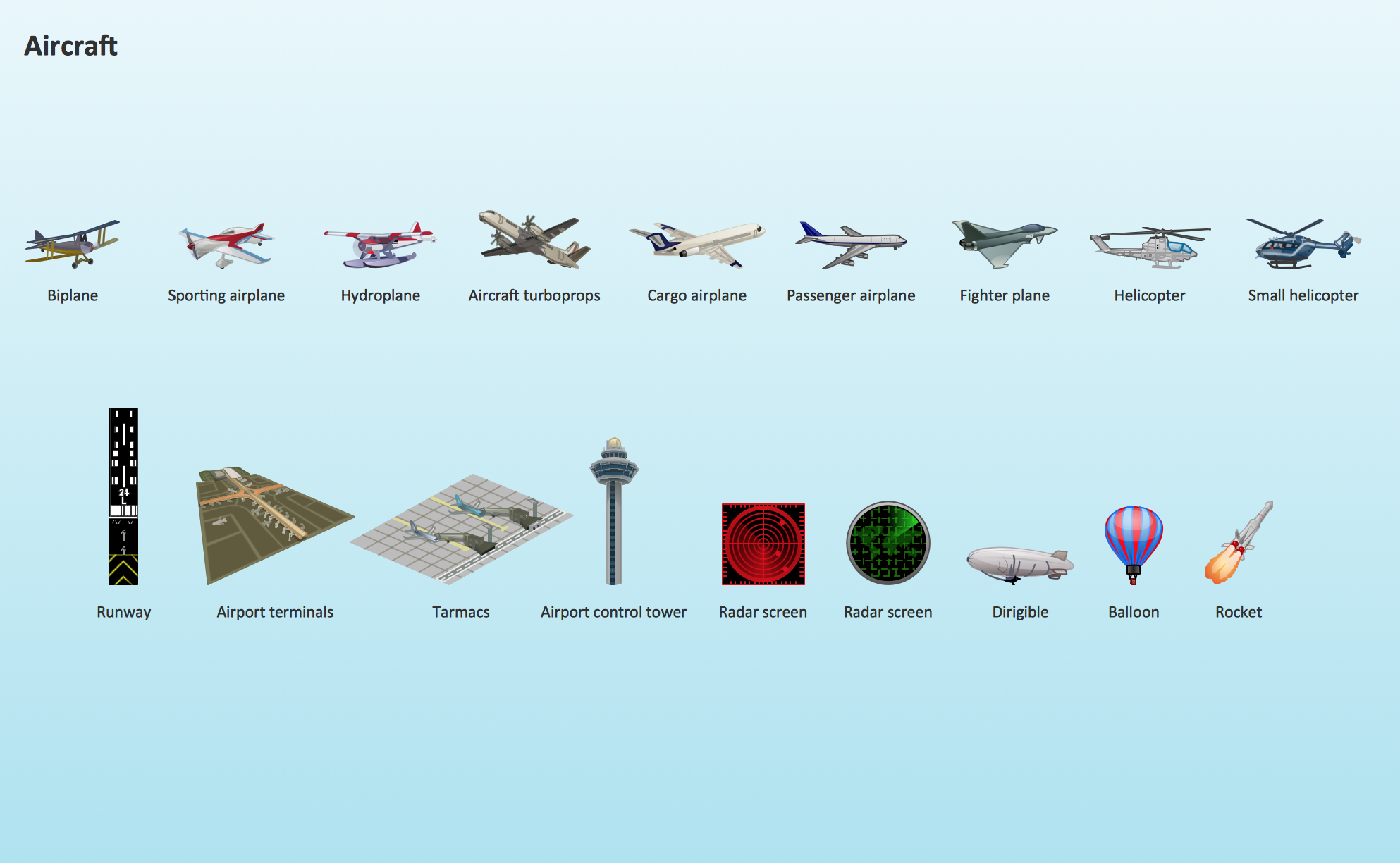 Aircraft Design Element Aircraft Clipart