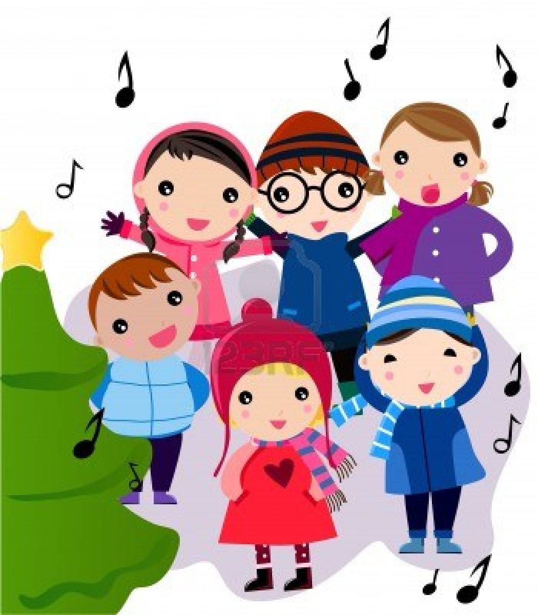 Christmas Carol Clipart - Clipart Kid