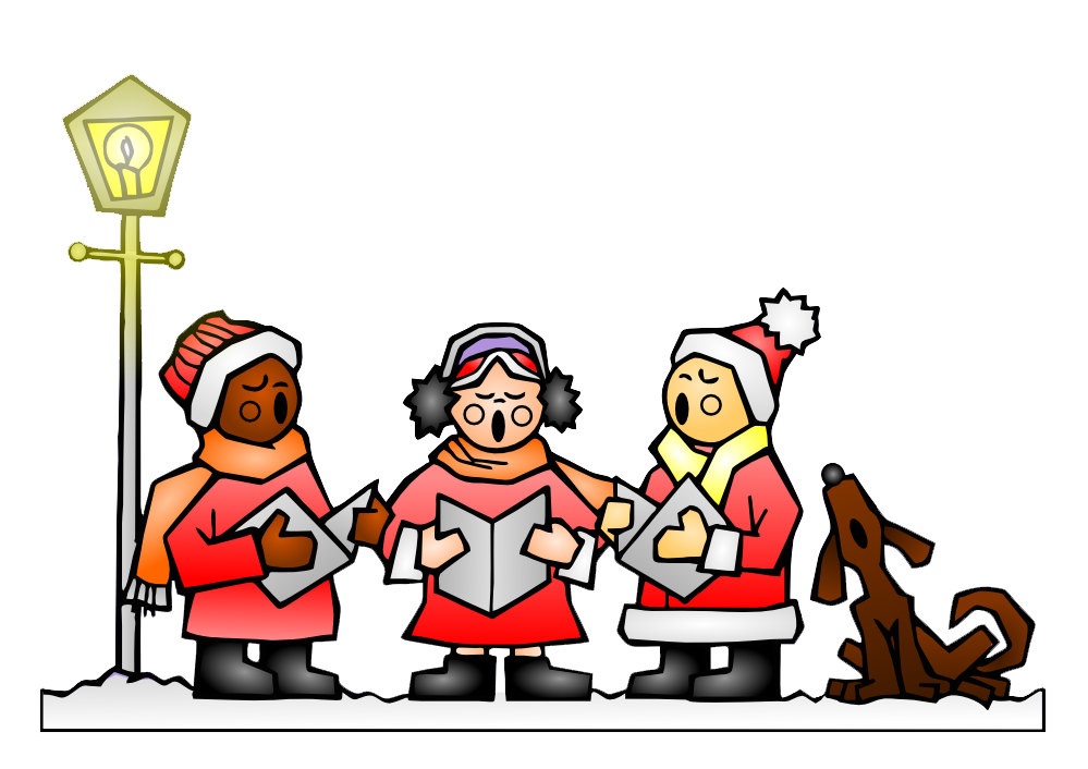 Clip Art Christmas Carolers Clipart christmas carolers clipart kid caroling clip art