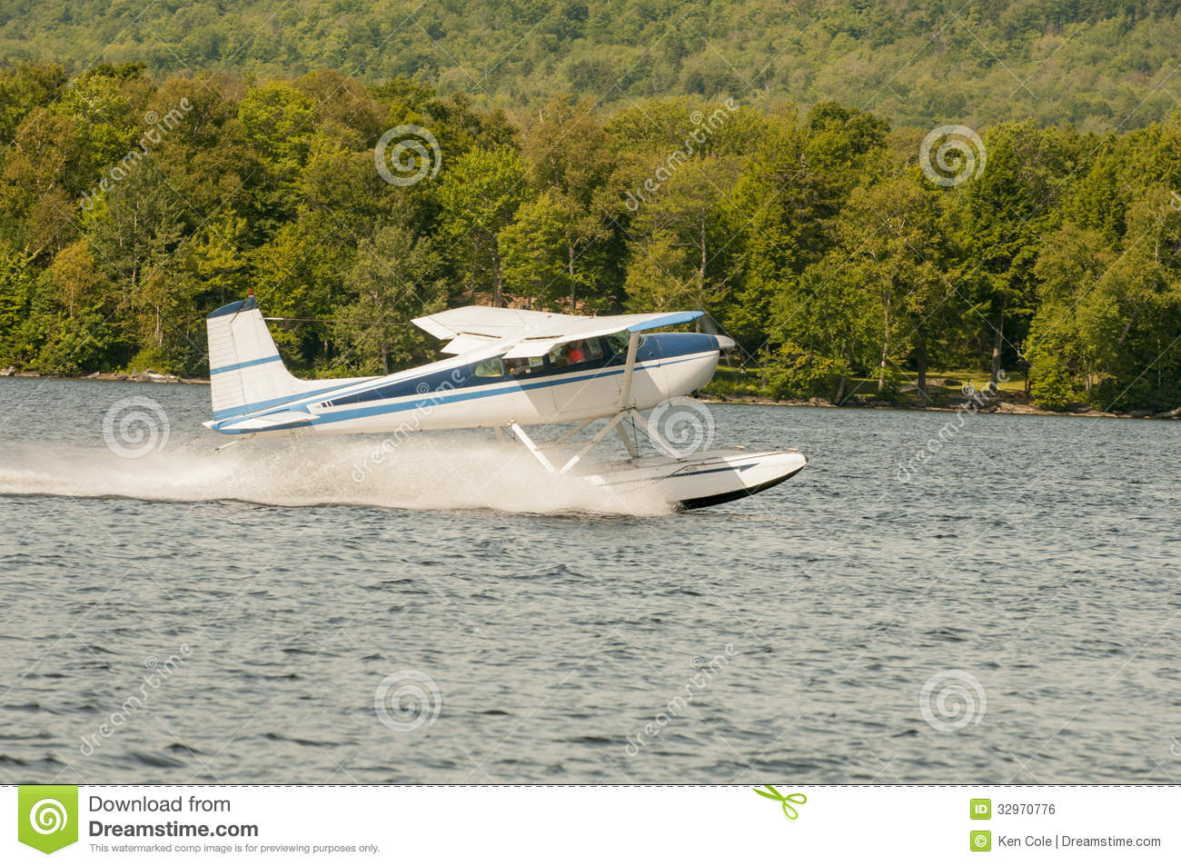 Float Plane Or Seaplane Taking Off Royalty Free Stock Image   Image