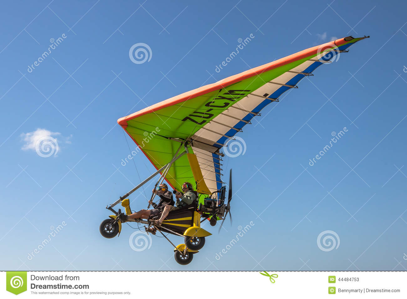 Intense Adrenaline  Ultralight Aircraft Editorial Stock Photo   Image
