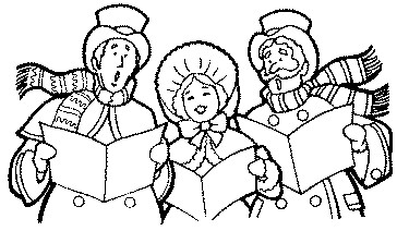 Clip Art Christmas Carolers Clipart christmas carolers clipart kid non transparent clip art