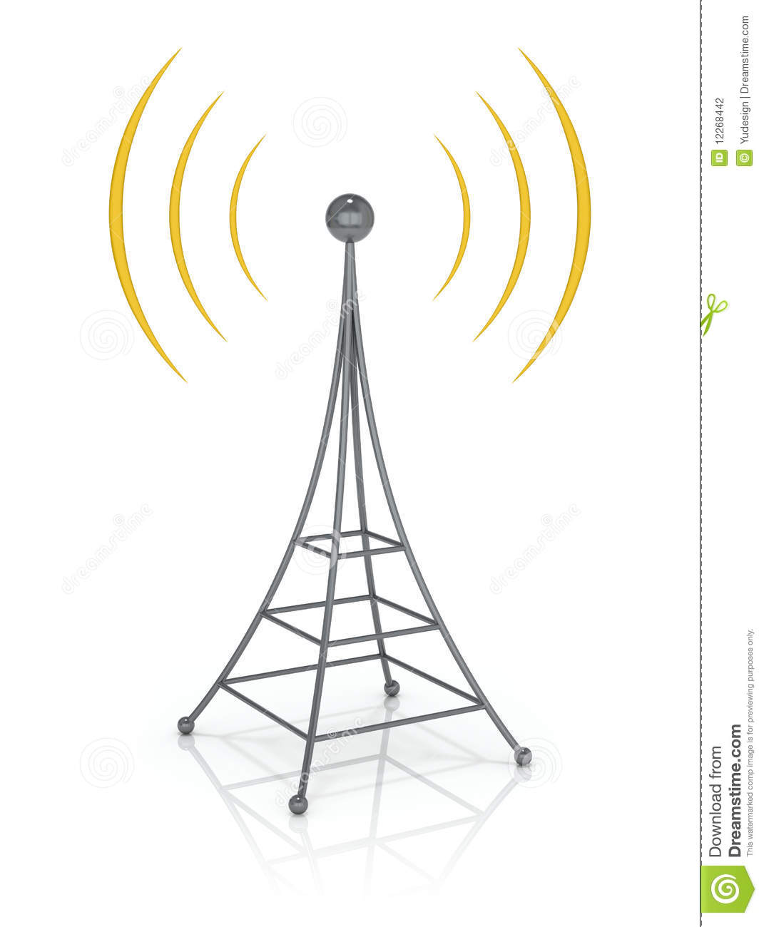Radio Tower Clipart Communications Tower