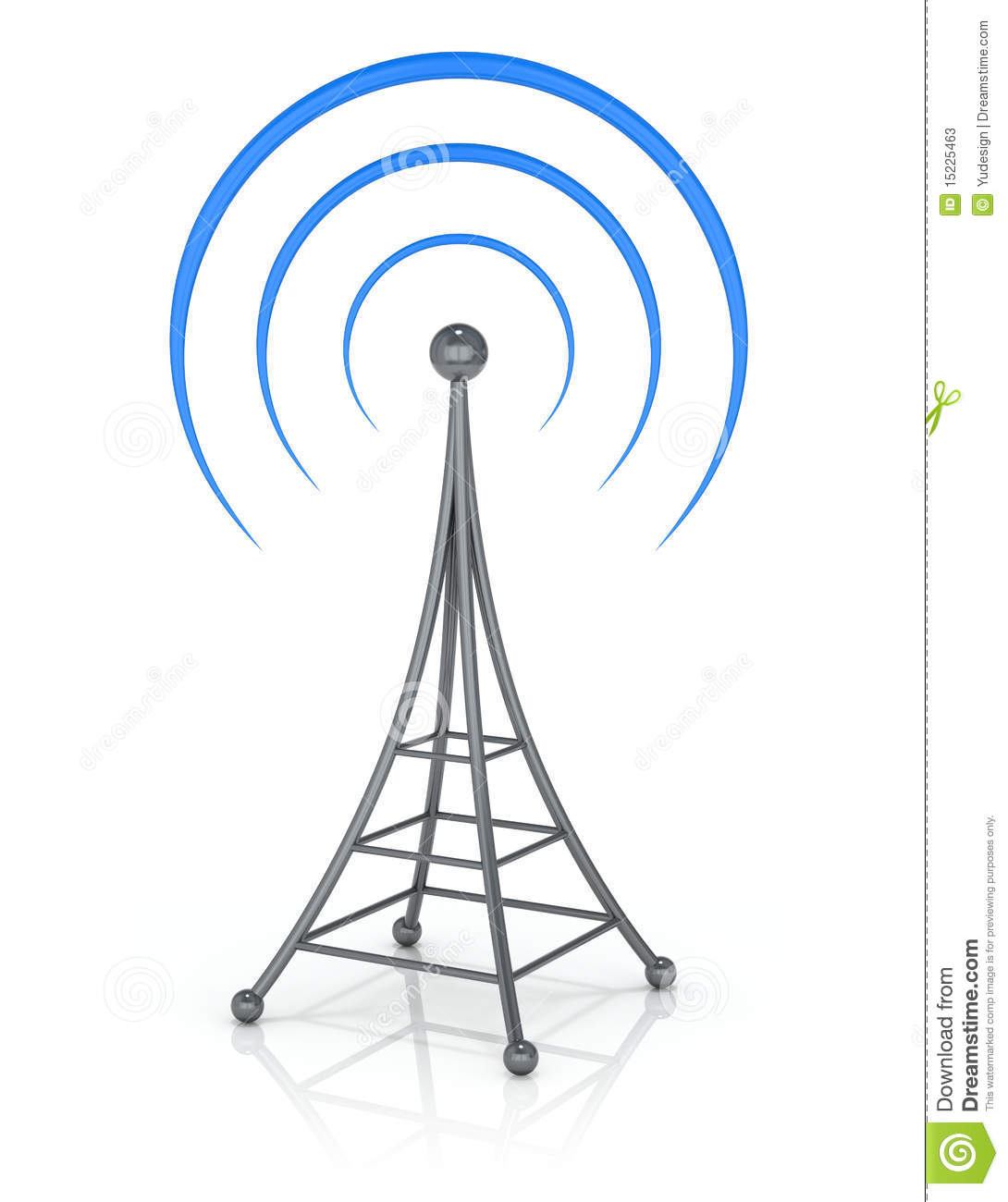 Radio Tower Clipart Radio Tower Clip Art Vector