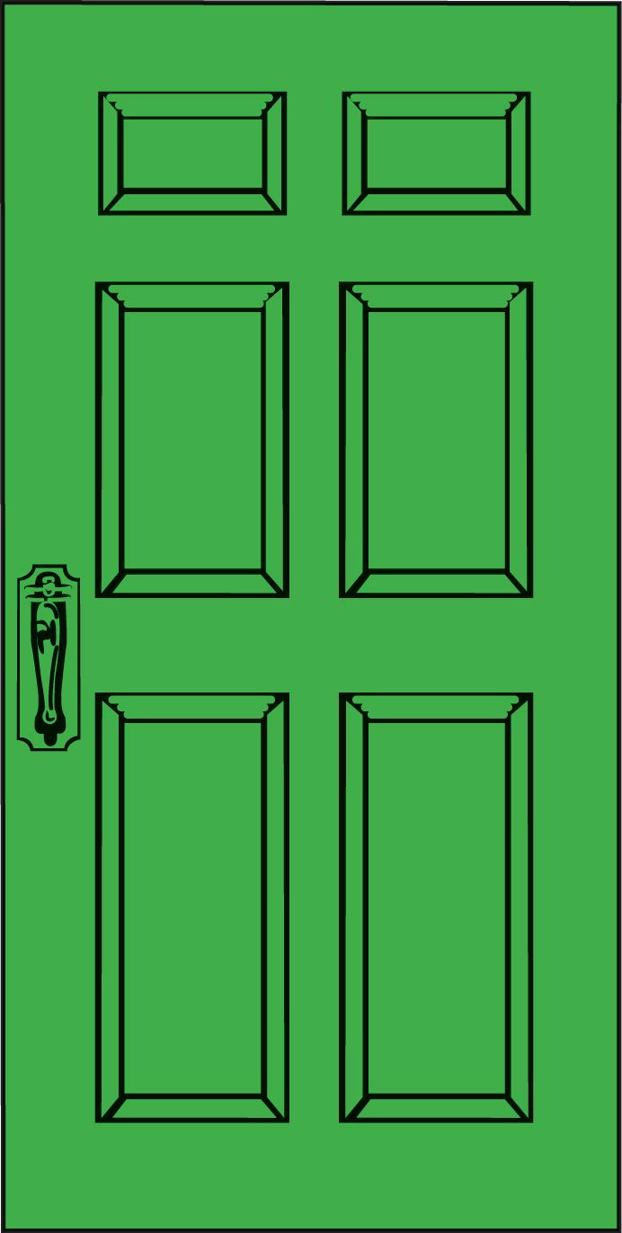 Closed-door Free Clipart - Clipart Kid
