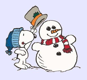 Image result for snoopy winter comic