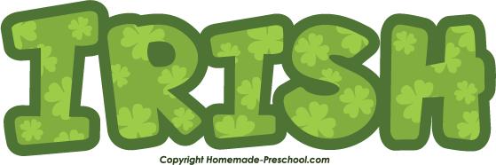 Home Free Clipart Free Irish Clipart Irish Clover Green