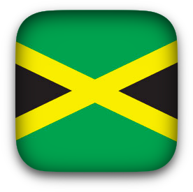 Jamaican Flag Clipart Png With Equal Sides Rounded Corners