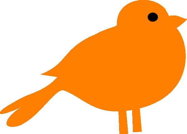Blue and orange bird logo - photo#28