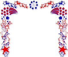 Patriotic Border   Free Patriotic Border Powerpoint Backgrounds