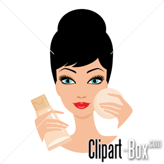 Related Cosmetics Lady Cliparts