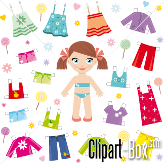 Related Dress Up Girl Cliparts