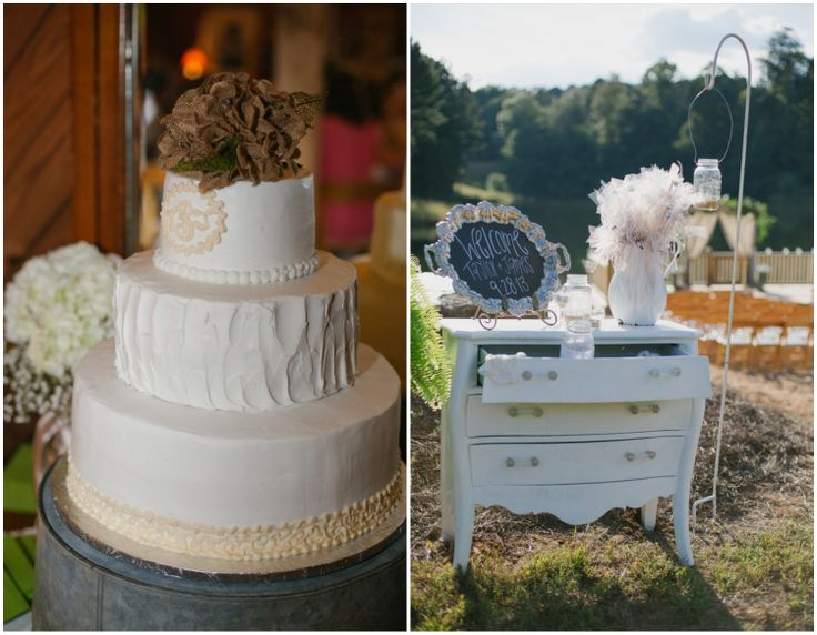 Rustic Wedding Cake Display  Engagement Ideas Country Rustic Weddings