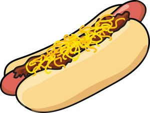 Silly Hot Dog Clipart - Clipart Kid
