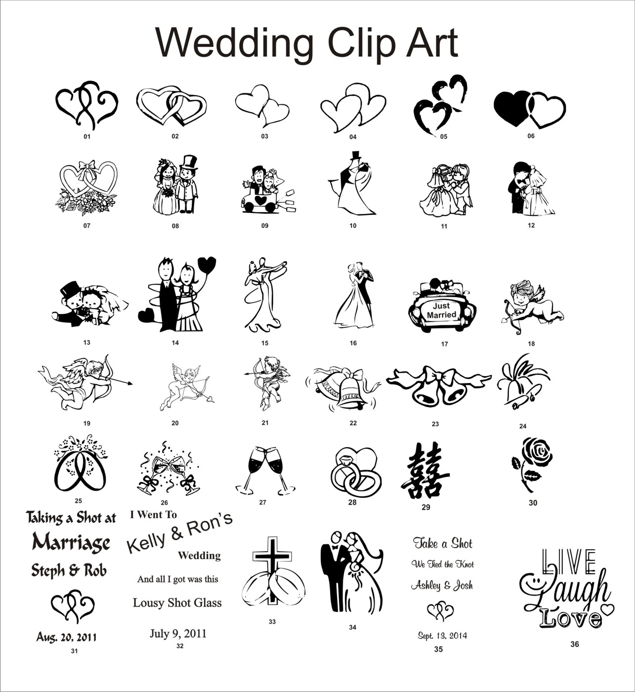 Wedding Reception Clipart   Free Vector Download