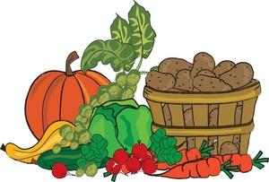 Fresh Vegetables Clip Art
