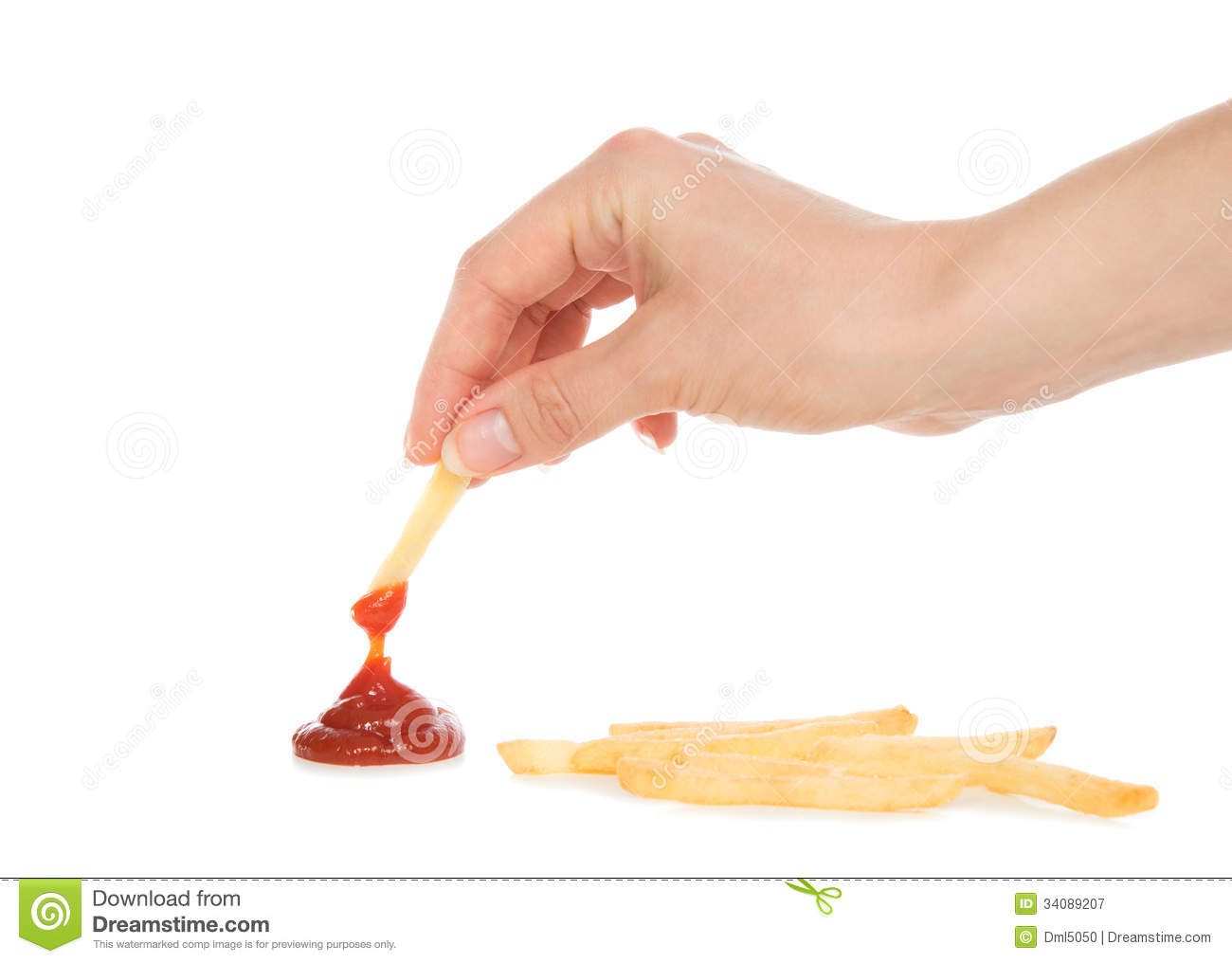 Chip And Dip Clipart Hand Dip French Fries Chips