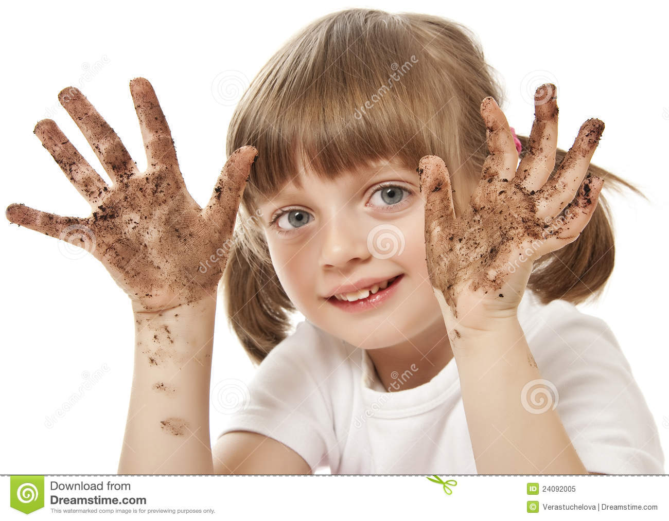 Dirty Hand Royalty Free Stock Photo   Image  24092005
