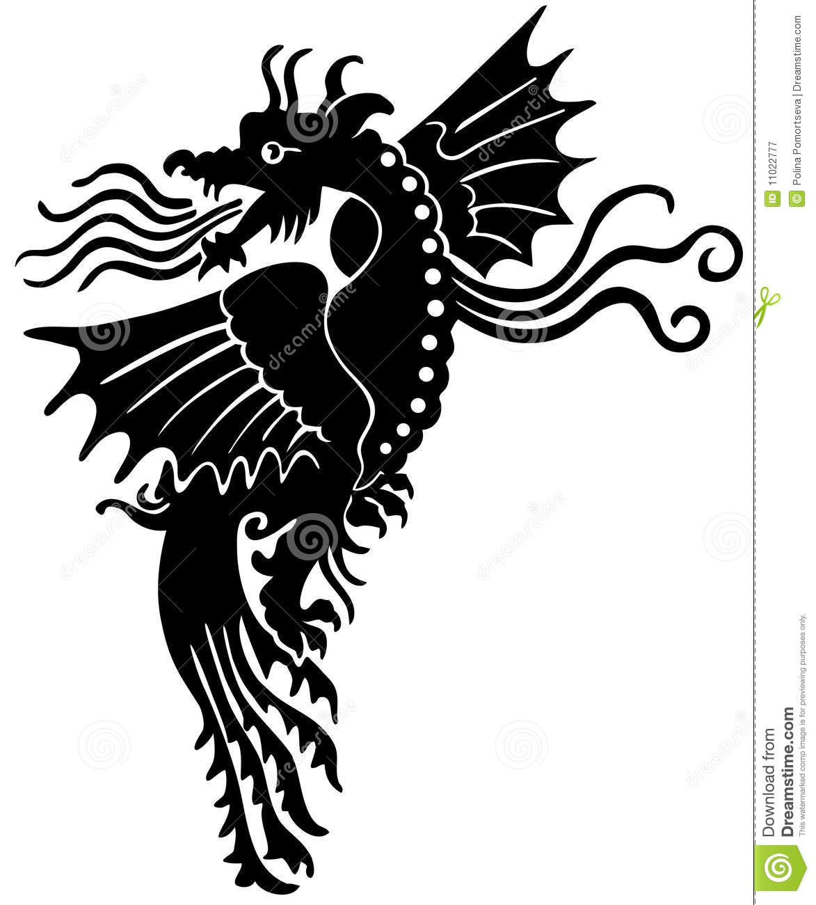 European Medieval Dragon Royalty Free Stock Photography   Image