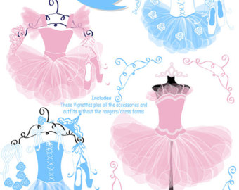 Tutu Skirt Clipart - Clipart Kid