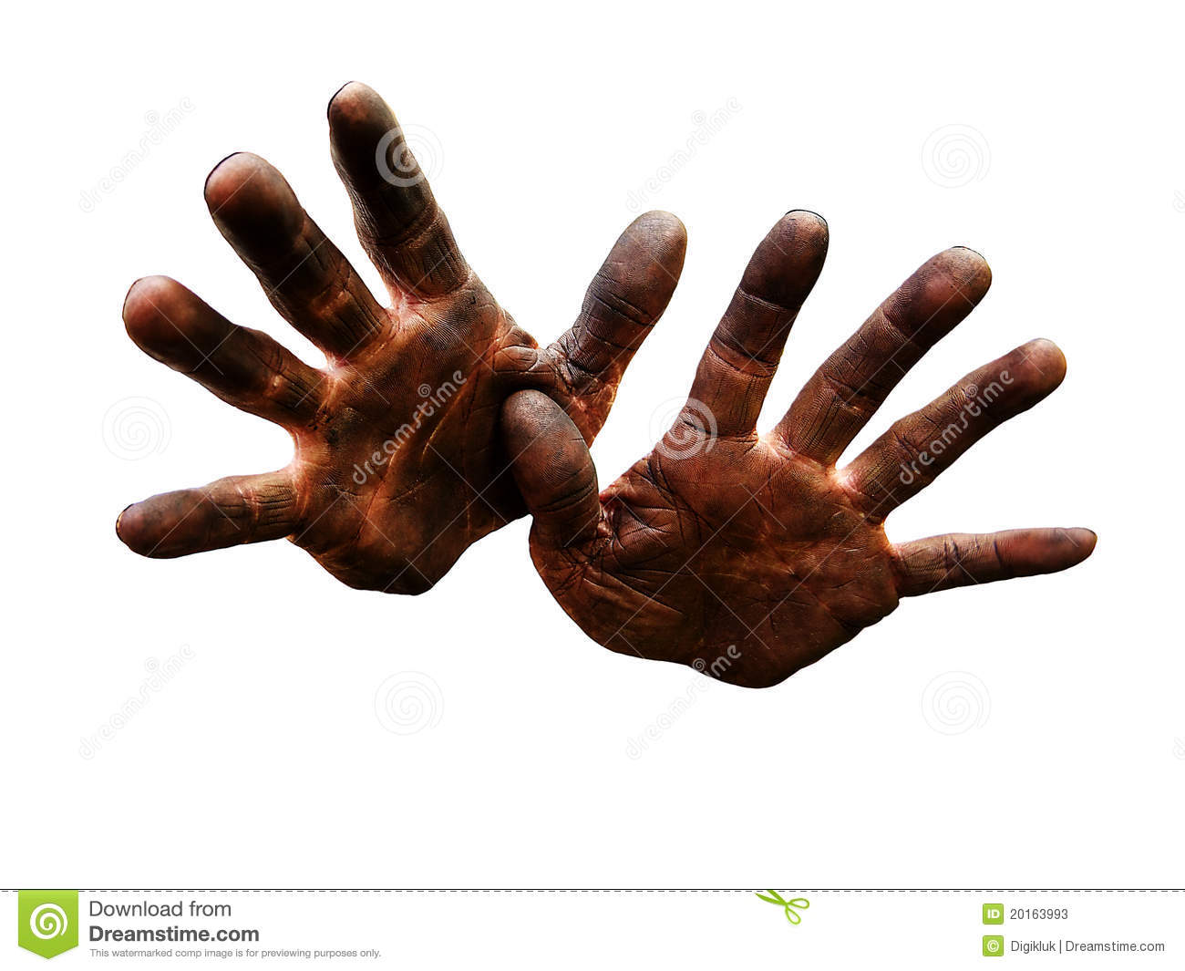 Mechanic S Hands Dirty From Oil  Stock Photos   Image  20163993