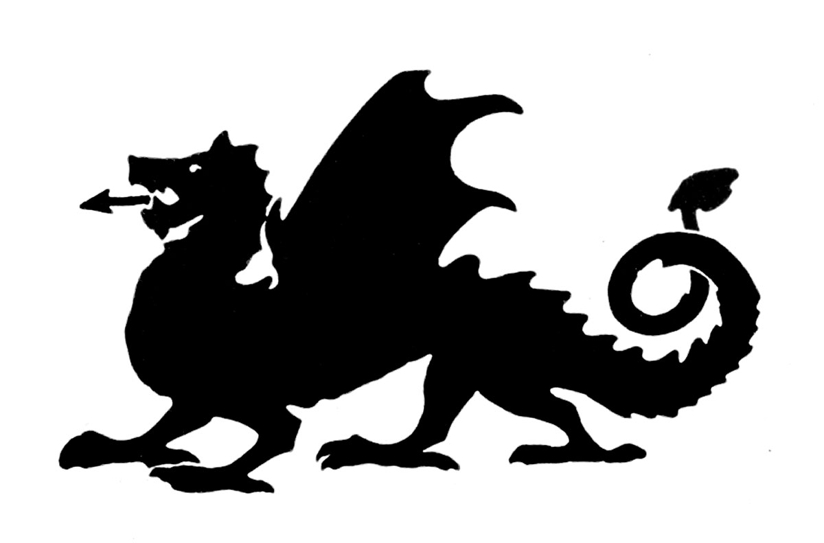 medieval dragon clipart clipart suggest