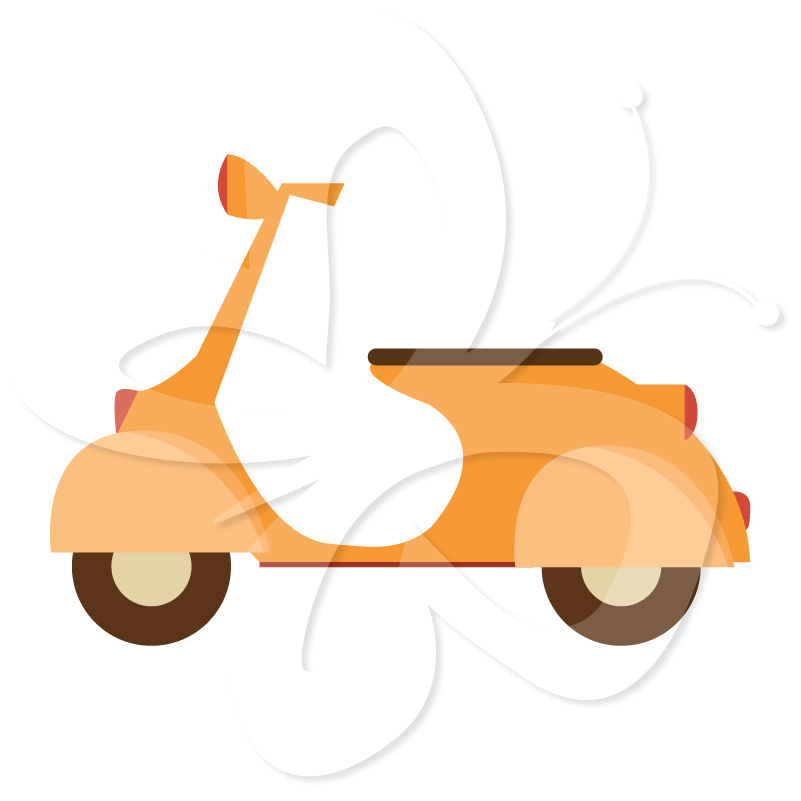 Pro Scooter Clipart - ...