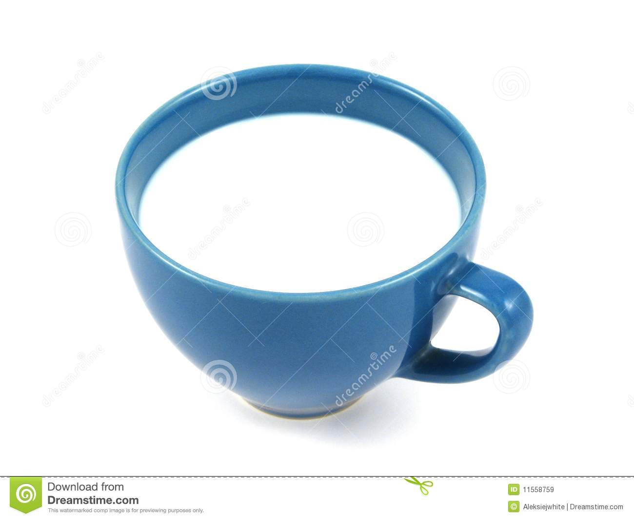 Cup Of Milk Clipart Cup Of Milk Isolated Close Up