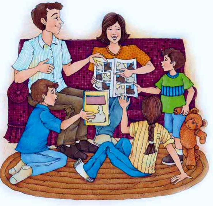 Family Home Evening Clipart Family Home Evening 2
