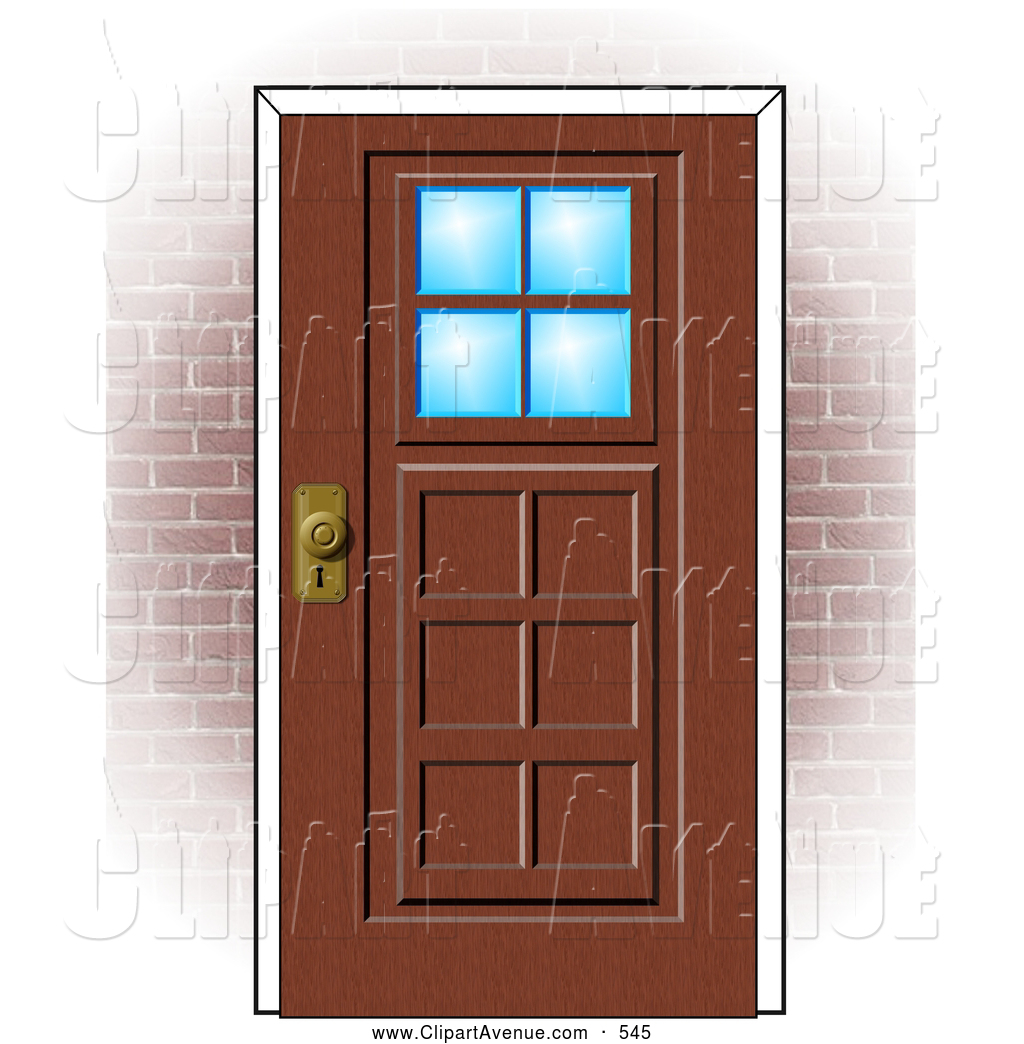 Wooden door clipart clipart kid