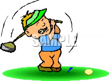 Funny Lady Golfer Clipart   Cliparthut   Free Clipart