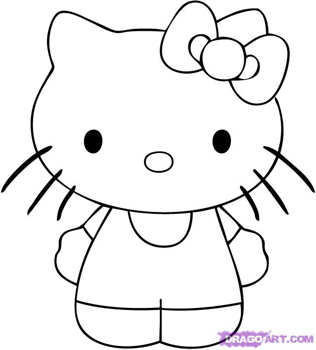 How To Draw Hello Kitty Step By Step Characters Pop Culture Free