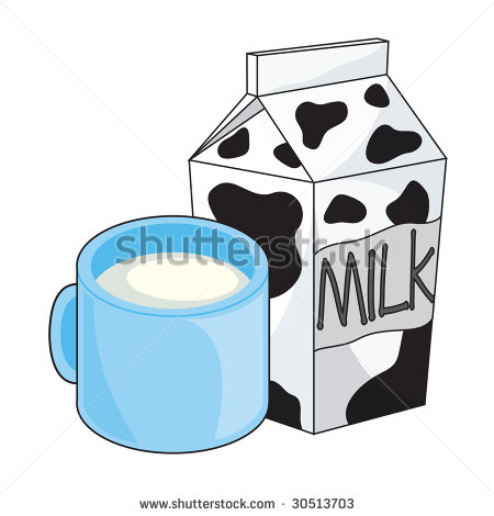 Illustration Of Milk Cup And Milk Carton   30513703   Shutterstock