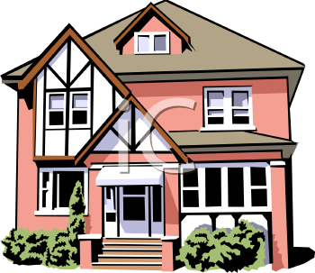 Single Family Home Clipart