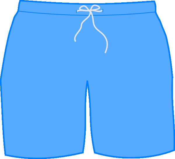 Swim Shorts Clip Art At Clker Com Vector Clip Art Online Royalty