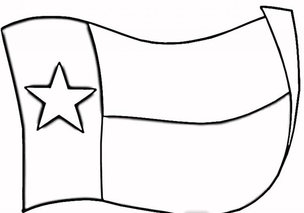 Flag Black And White Texas Clipart - Clipart Kid
