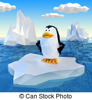And Stock Art  7175 Penguin Illustration And Vector Eps Clipart