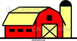 Barn Vector Clip Art