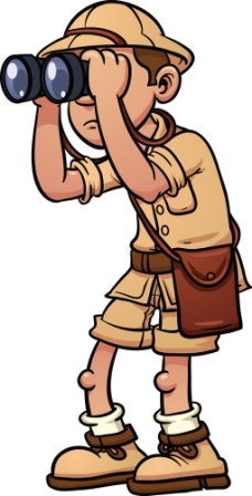 Bigstock Cartoon Safari Explorer With B 27498878   Simply Stated