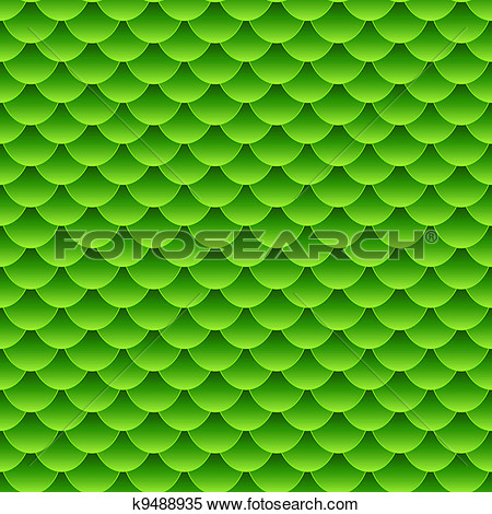 Clipart   Seamless Small Green Fish Scale Pattern  Fotosearch   Search